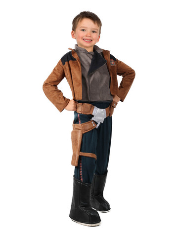 Solo: A Star Wars Story-Han Solo Costume for Boys