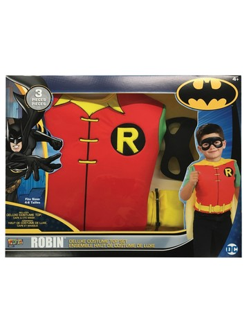 Boys Robin Deluxe Costume Top Set