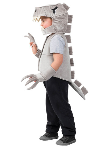 Robo T-Rex Dino Vest Costume for Boys