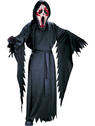 Boys Scream Bleeding Ghost Face Costume