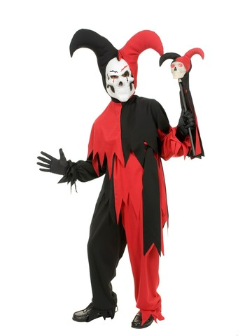 Boys Wicked Jester Costume