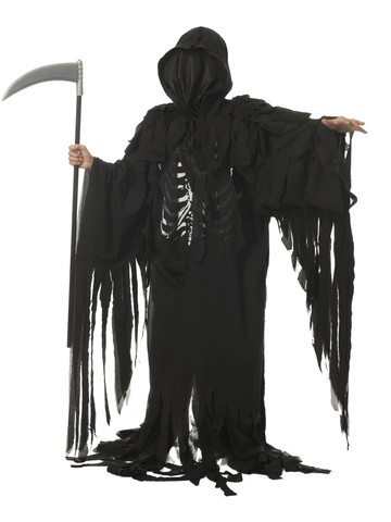 Tattered Reaper Costume for Boys
