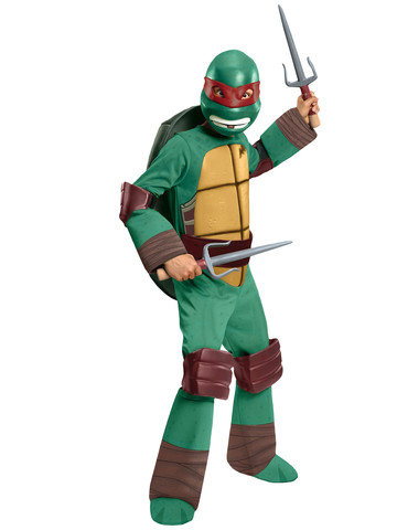 Boys Teenage Mutant Ninja Turtles Deluxe Raphael Costume