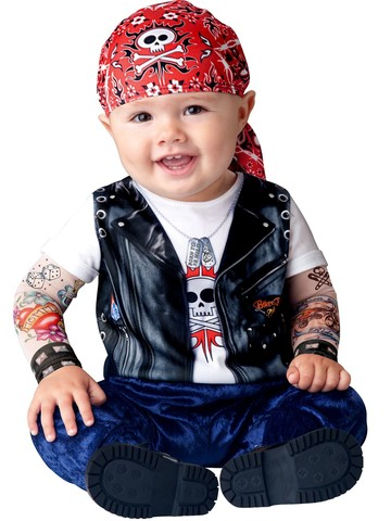 Boys Toddler Born To Be Wild Costume