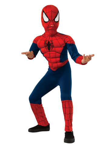 Boys Ultimate Spider-Man Muscle Chest Child Costume