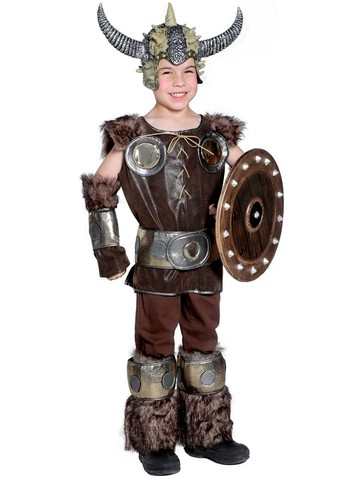 Boy's Viking Costume Set