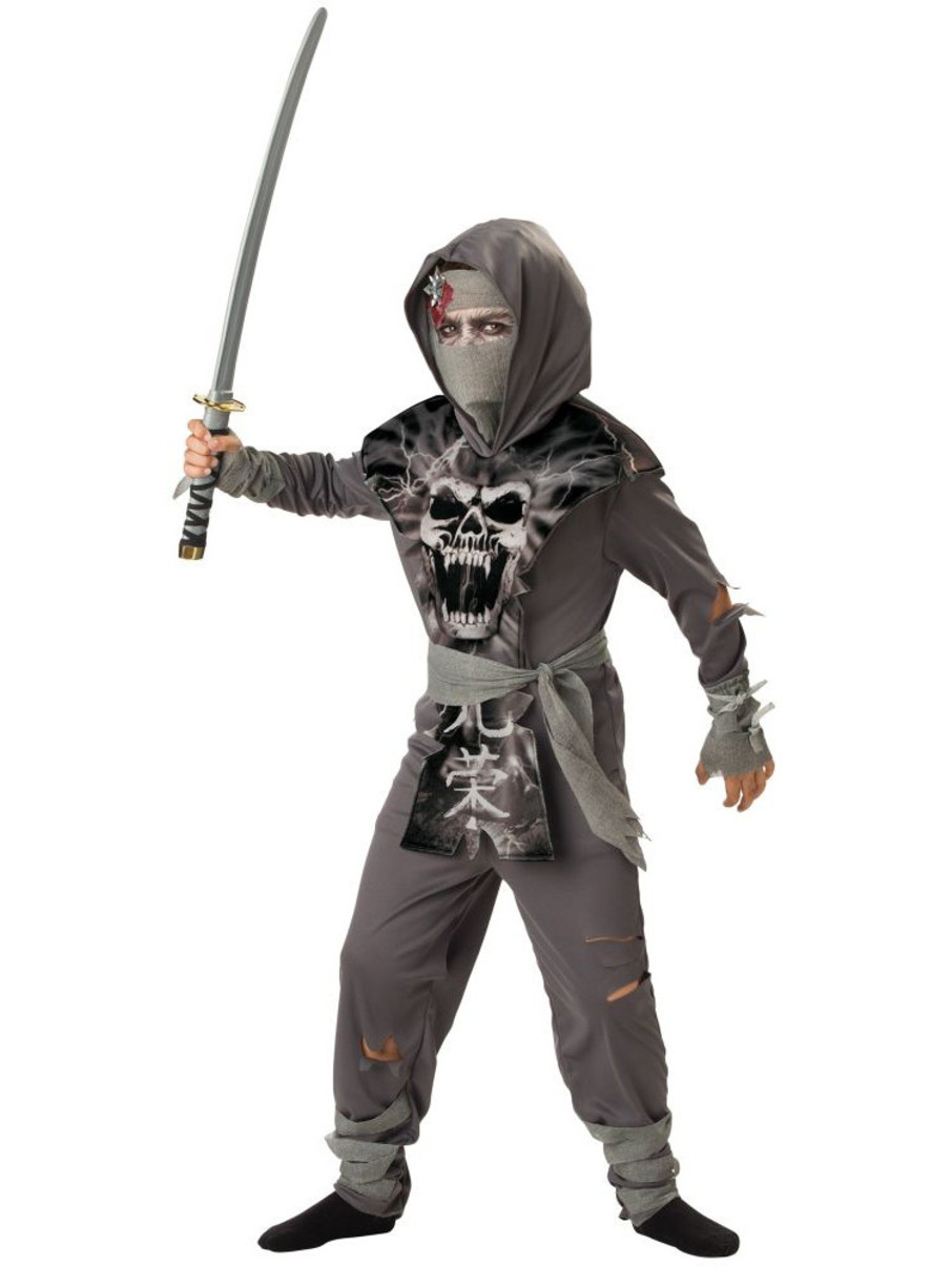 View larger image of Boys Zombie Ninja Costume