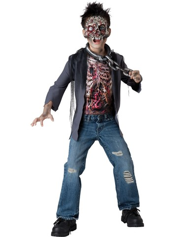 Zombie Halloween Costumes For Toddlers.Boys Zombie Unchained Horror Costume