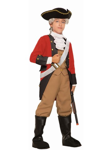 British Red Coat Soldier Costume