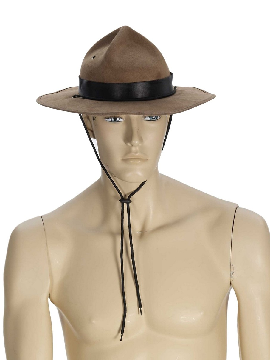 View larger image of Adult Brown Mountie Hat