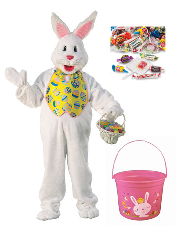 Bunny with Bucket & Candy - Standard
