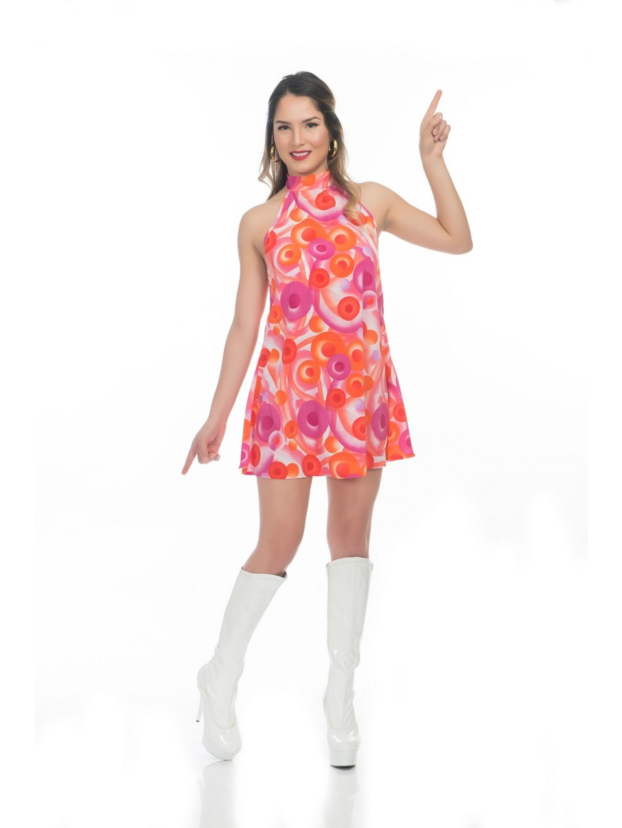 View larger image of California Dreamin Disco Dress Costume