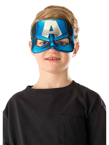 Captain America Kid's Plush Mask