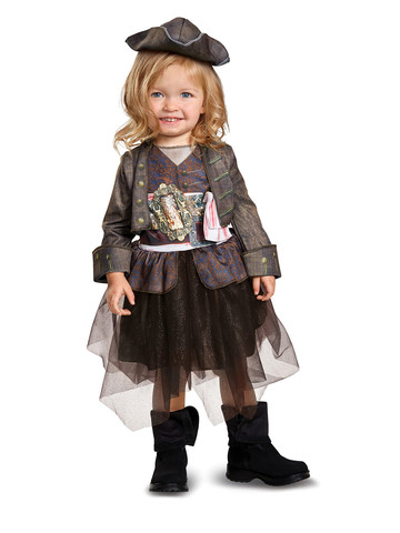 Baby Captain Jack Inspired Tutu Costume