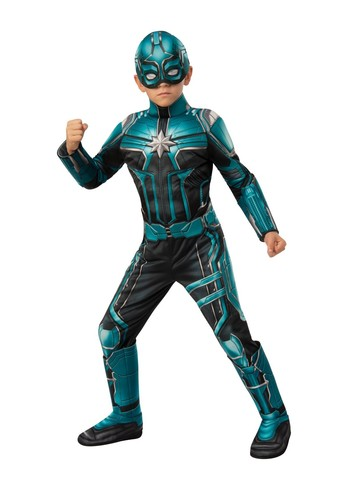 Captain Marvel Yon Rogg Costume For Kids - Deluxe