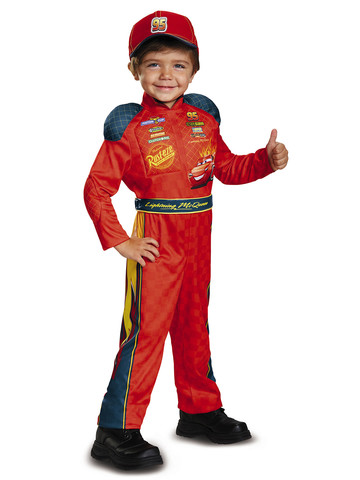 Toddler Cars 3 - Lightning Mcqueen Costume