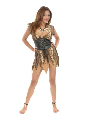 Cavewoman Costume for Adults