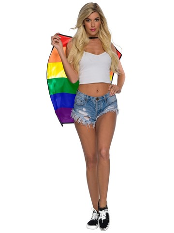 Certified Pride Rainbow Cape