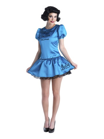 Charlie Brown Deluxe Lucy Womens Costume