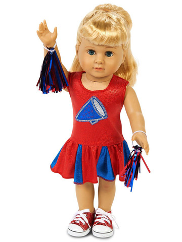"Cheer Team 18"" Doll Costume"