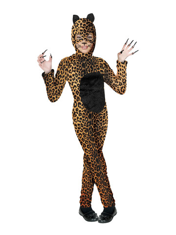 Girls Cheetah Costume