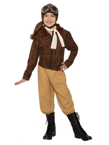 Clear Skies - Amelia Earhart Child Costume