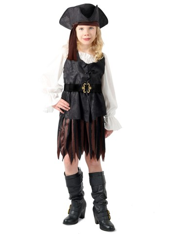 Pirate Maiden Costume for Kids