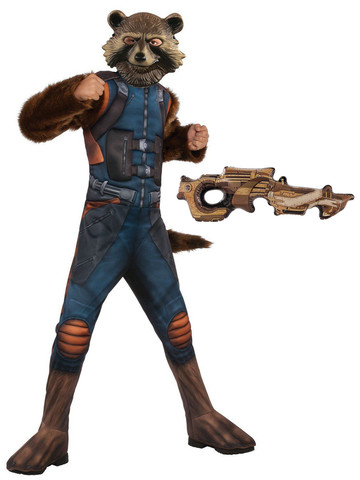 Child Avengers Endgame Rocket Raccoon Costume Kit