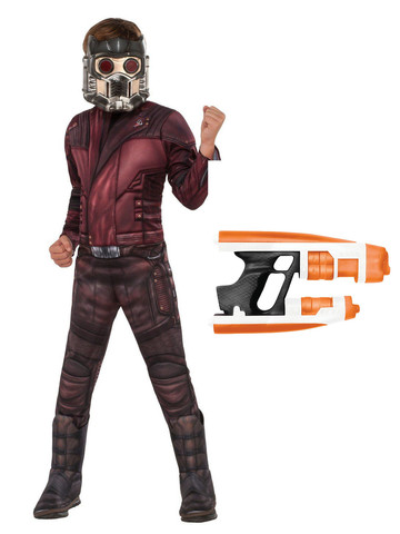 Child Avengers Endgame Star Lord Costume Kit