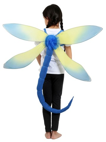 Blue Dragonfly Children's Costume