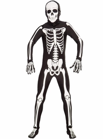 Child Bone Suit Costume