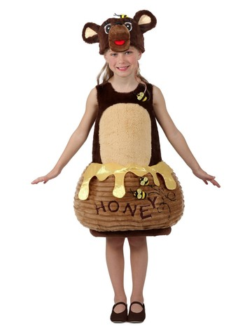 Bear in the Honey Pot Candy Catchers Costume for Kids