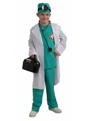 Child's Top Surgeon Costume