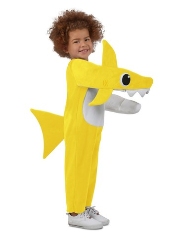 Hilarious Kid's Chompin' Baby Shark Costume with Sound Chip