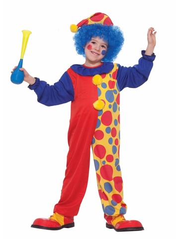 Child's Clown Jumpsuit
