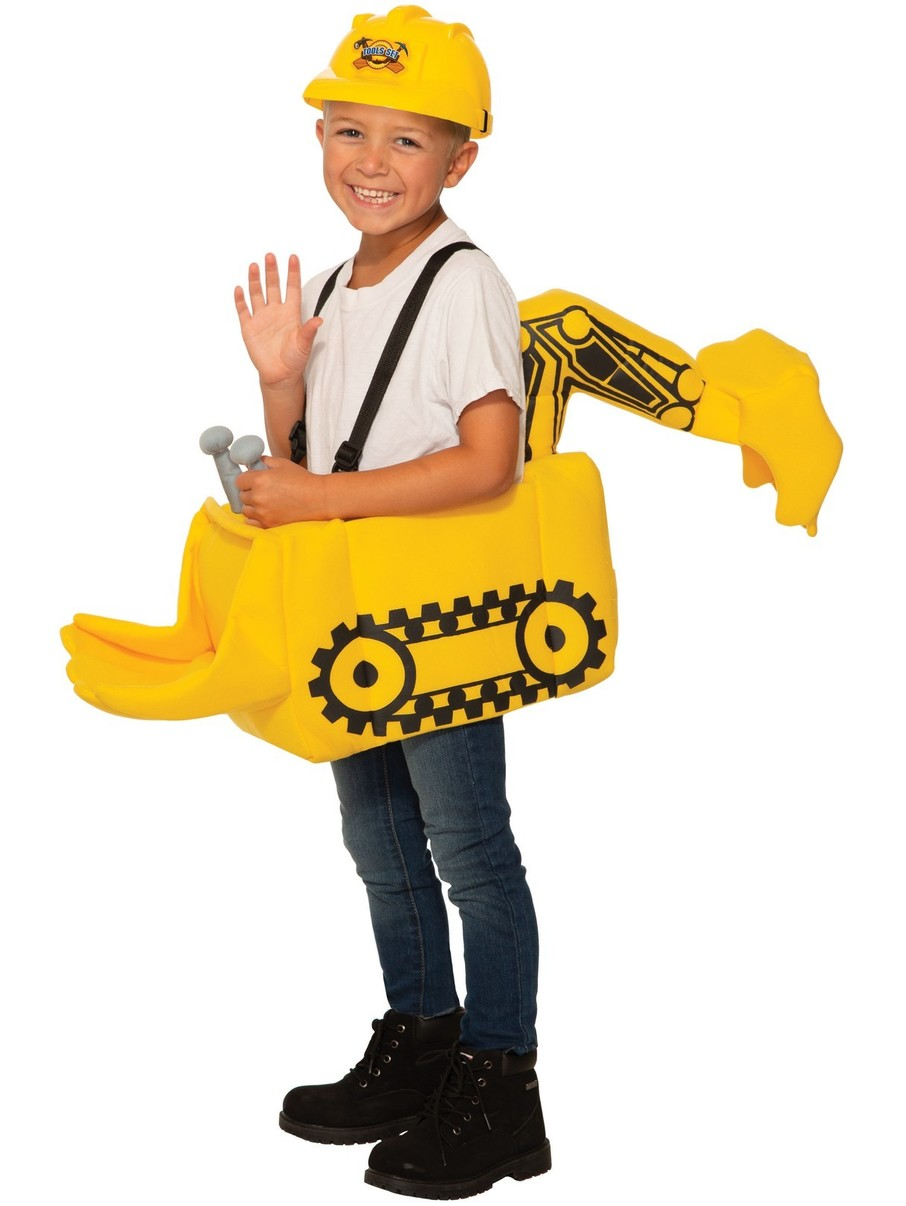 View larger image of Construction Loader Ride-On Costume for Child