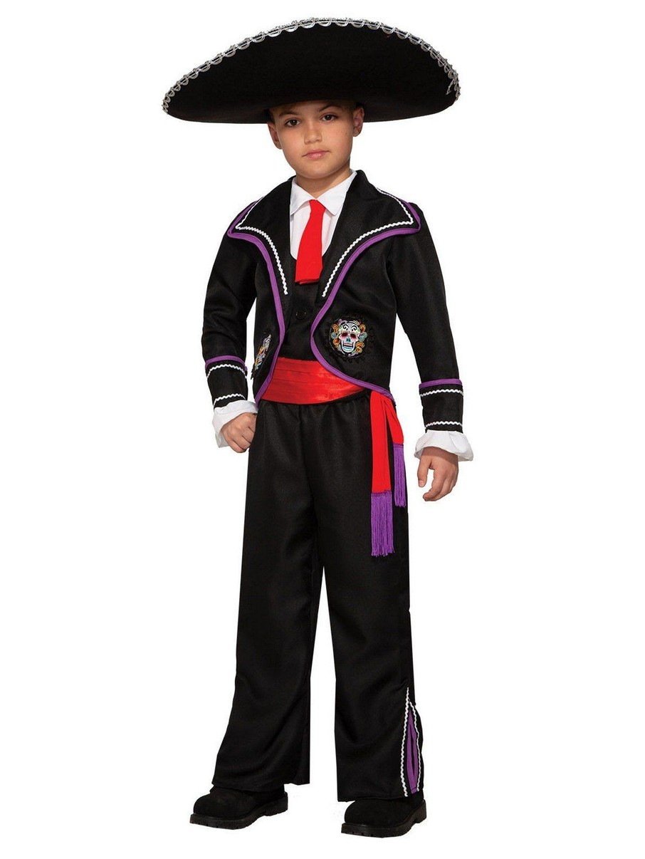 View larger image of Child Day of the Dead Classic Macabre Costume