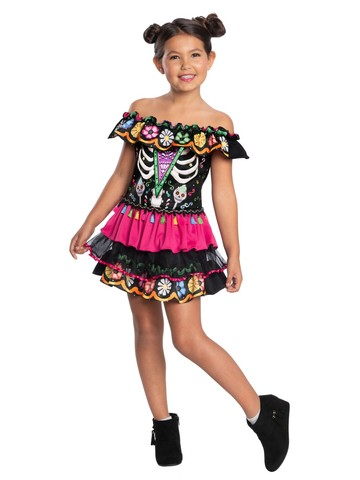 Day of the Dead Child Costume for Kids
