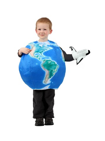 Earth in Space Children's Costume