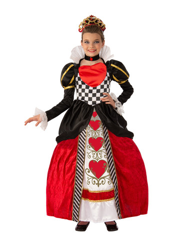 Elite Red Queen Child Costume