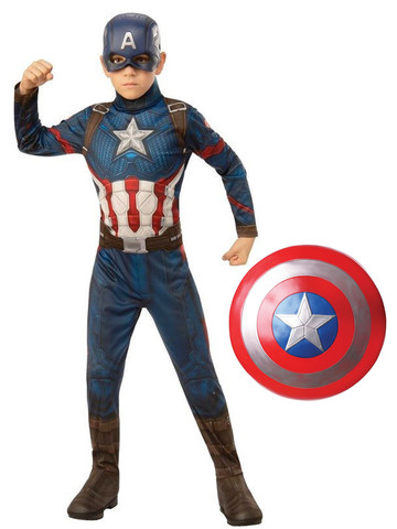 Child Endgame Captain America Costume Kit