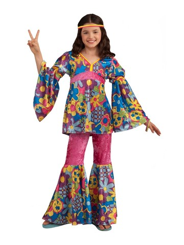 Child's 70's Flower Power Costume