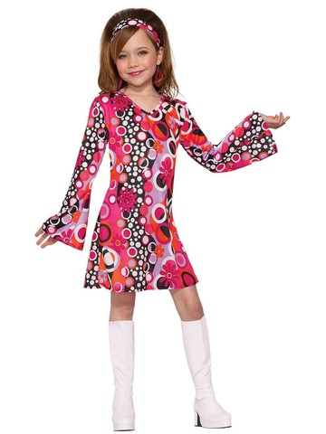 Child Groovy Girl Classic Costume