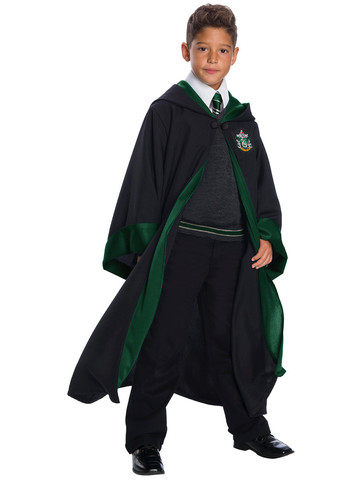 Harry Potter Slytherin Student Costume for Kids