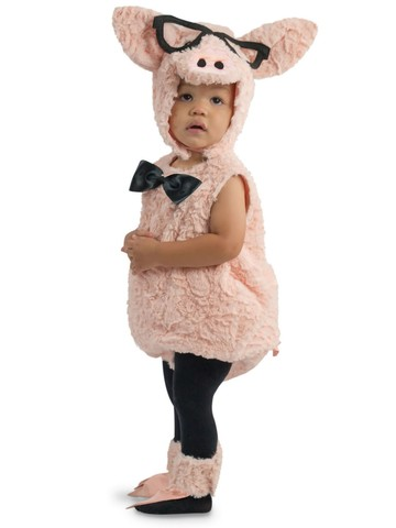 Hipster Pig Children's Costume