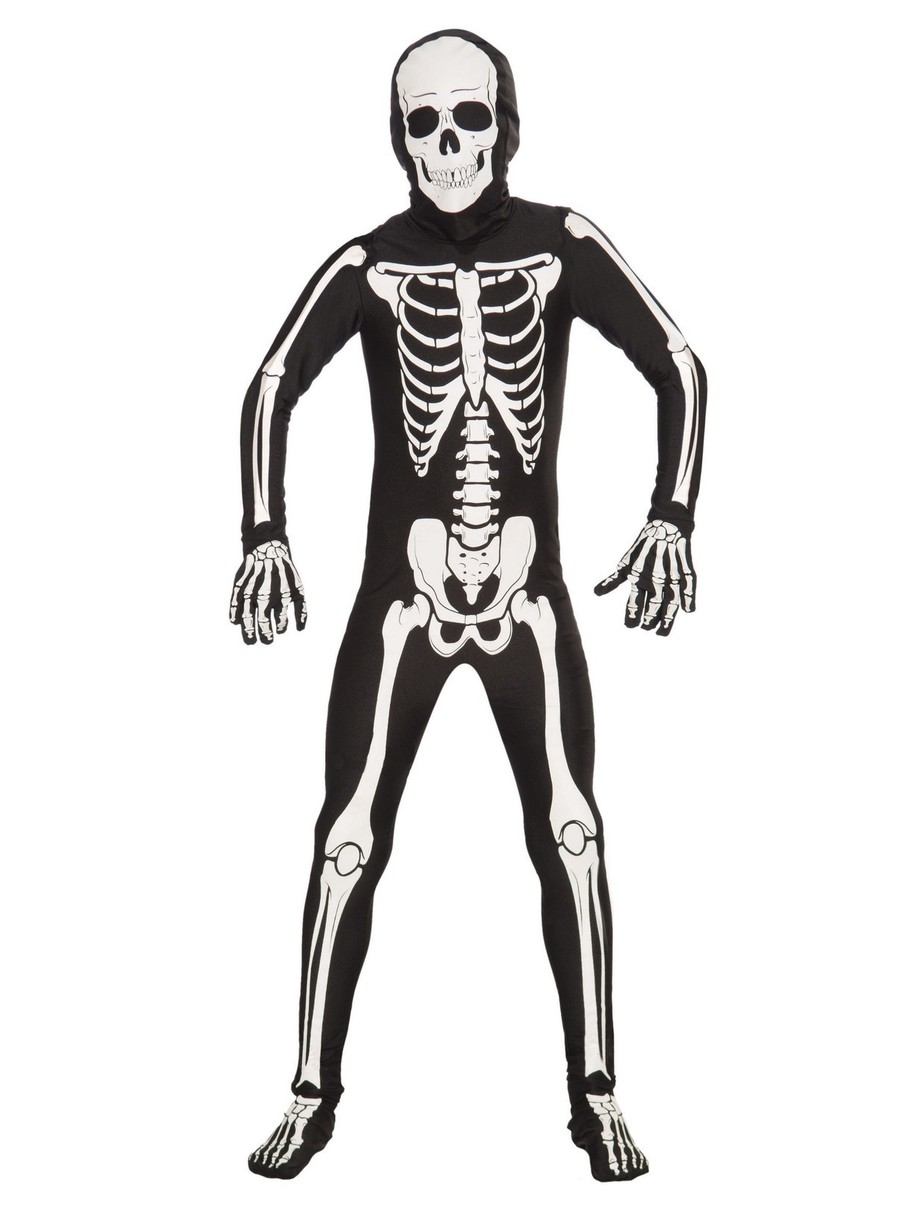 View larger image of Child I'm Invisible Bone Suit Costume