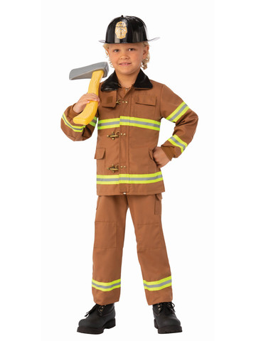 Fireman Junior Costume