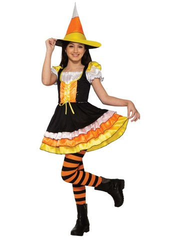 Girl's Little Miss Candy Corn Classic Costume