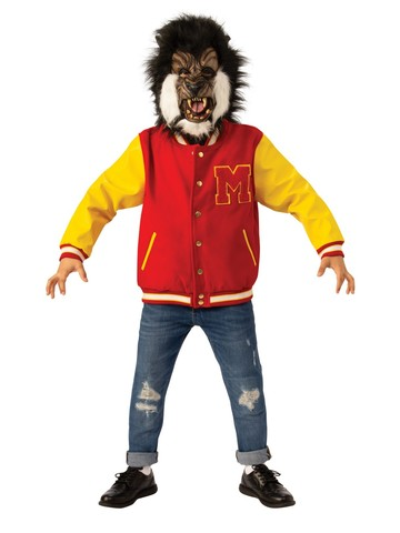 """Werewolf"" Thriller Mask and Jacket Set for Child - Michael Jackson"