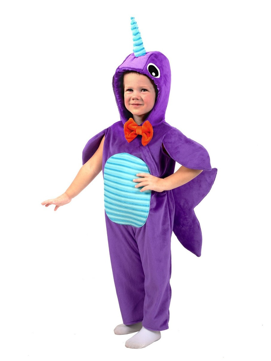 View larger image of Minky Narwhal Children's Costume